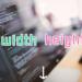 レスポンシブにも対応!CSSプロパティ「width」と「height」の使い方